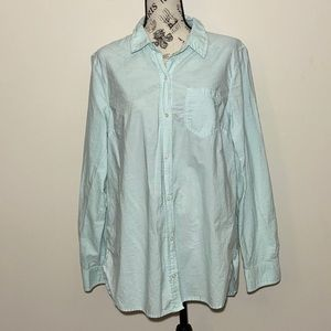Gap Button Down Blue Size Large